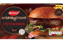birds eye inspiration burgers