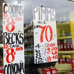 Scottish alcohol sales fall to 26-year low