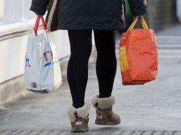 Plastic bag sales down 86% since 5p charge