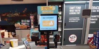 EDGEPoS Self-Checkout at EUROSPAR, Ashbury Avenue, Bangor, Co. Down