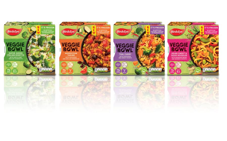 Birds Eye Launches Vegetarian Ready Meals Business