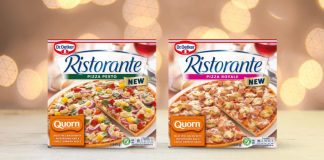 pizza brand Dr. Oetker Ristorante has announced a partnership with meat-free brand Quorn