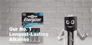 Energizer introduces Max Plus in TV debut