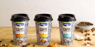 Alpro adds on-the-go format to Caffè range