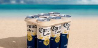 Corona launches plastic-free six pack rings