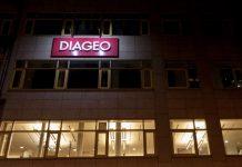 Diageo logo on their Budapest Main Office