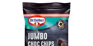 Dr. Oetker launches Jumbo Choc Chips