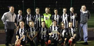Brigg Town Under 14s Girls Team