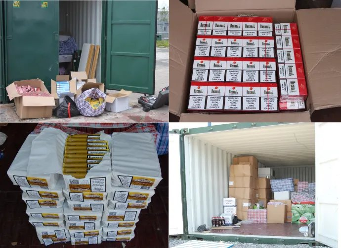 Shopkeepers jailed after illegal tobacco, alcohol seizure