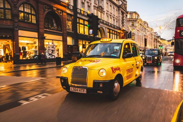 Branded cabs to drive Kahlúa Christmas campaign