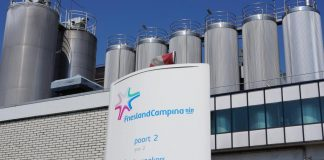A FrieslandCampina factory in Rotterdam, the Netherlands, May 2018.