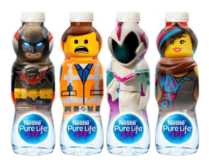 Nestlé Waters unveils new LEGO bottles