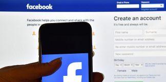 Facebook app and website