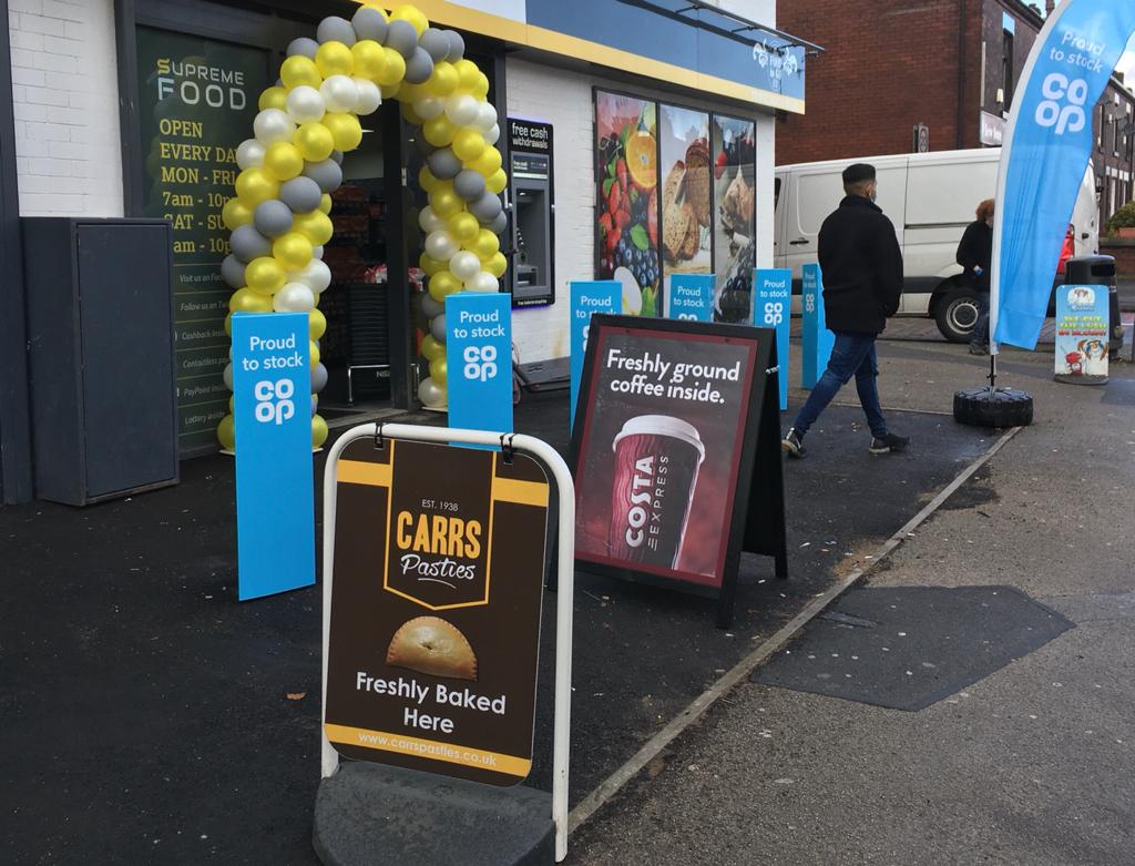 Bolton retailer expands store after three-year wait
