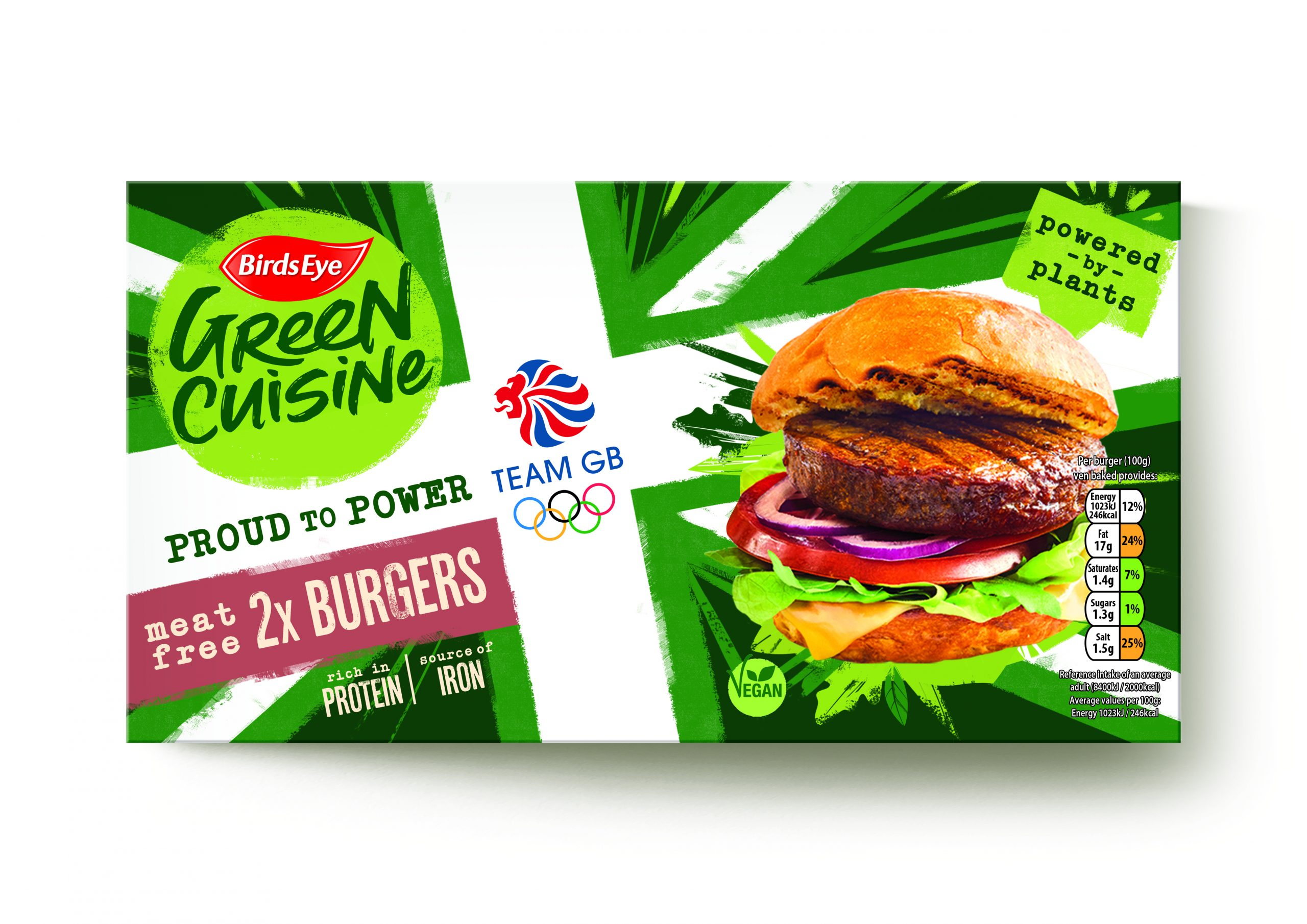 Birds Eye Green Cuisine becomes official supporter of Team GB