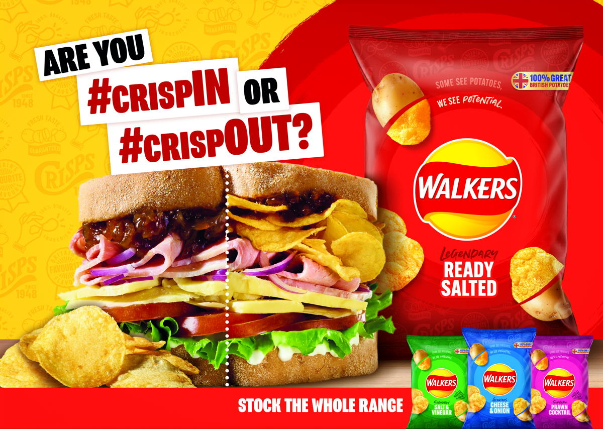 Walkers kicks off marketing campaign targeting lunchtime opportunity