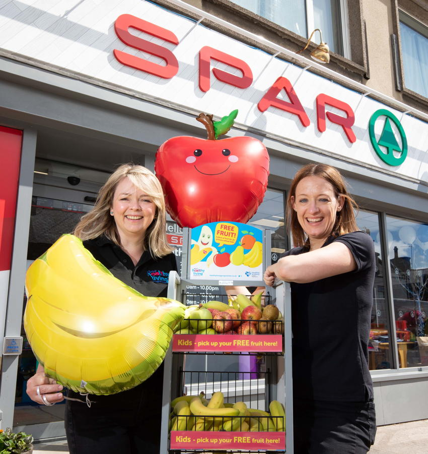 Spar Scotland offers free fruits to children in new Healthy Living Programme campaign