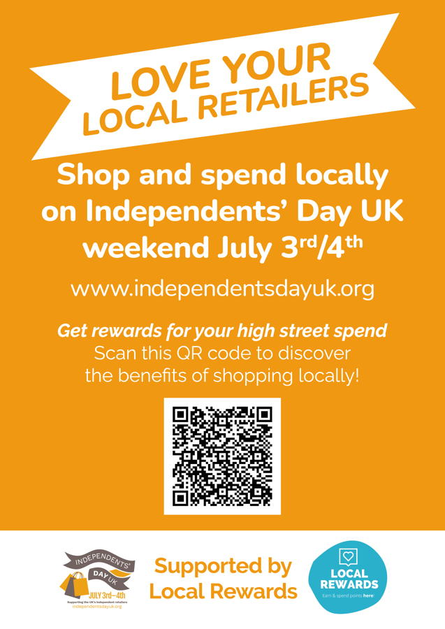 Independents' Day campaign to culminate in full weekend celebration of indie retailers