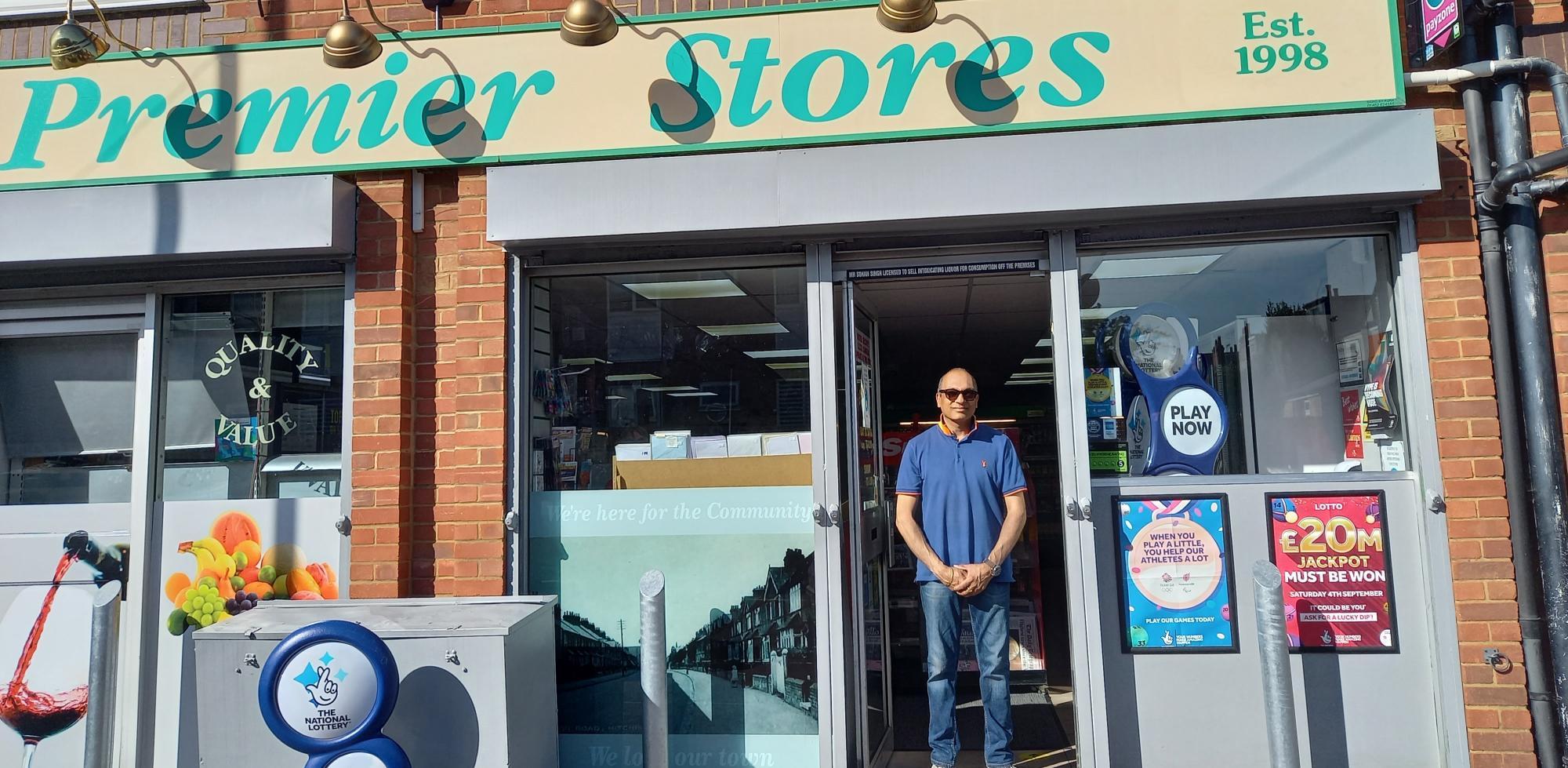 Sohan Singh from Premier Store in Hitchin in Hert